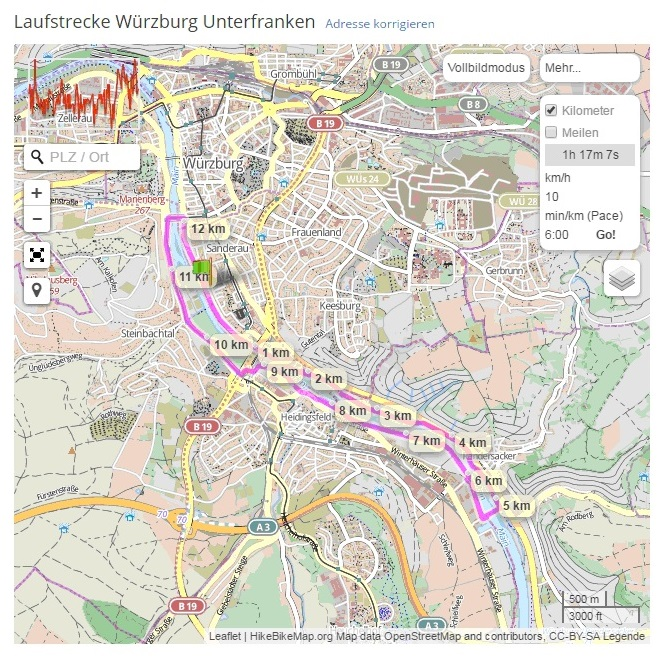 LG Würzburg - Lauftreff